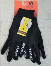 Reflective Running Glove Unisex Touchscreen Black L/XL Softshell Xersion