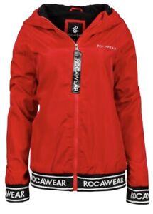 Rocawear Womens Lightweight Jacket Red/L