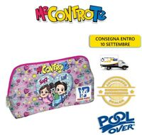 Astuccio Me Contro Te Bustina Pouch - PoolOver Young People Scuola