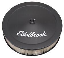 Edelbrock 1223 Pro-Flo Black 14'' Round Air Cleaner / Filter