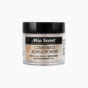 Mia Secret Acrylic Nail Powder Cover Beige 1 oz - USA