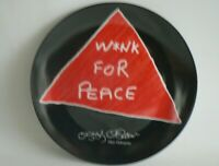 OZZY OSBOURNE Wink For Peace Porcelain Plate Churchill No Edition A309