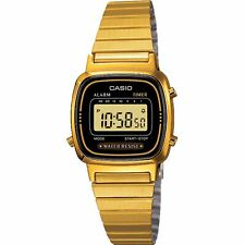 Casio Collection Quartz Digital Dial Gold Bracelet Ladies' Watch LA670WEGA-1EF