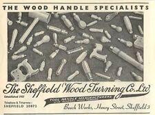 1953 Sheffield Wood Turning Co Ltd Beech Works Henry Street Ad
