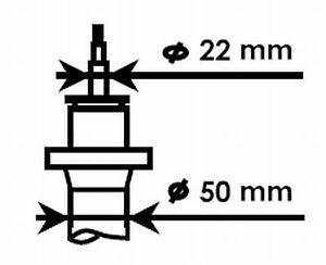 KYB (324703) Stoßdämpfer vorne für AUDI SEAT SKODA VW