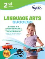2nd Grade Language Arts Success, Paperback by Sylvan Learning, Brand New, Fre...