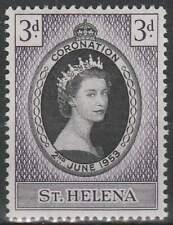 St. Helena postfris 1953 MNH 122 - Coronation Elisabeth II (044)