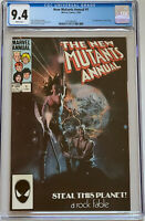 New Mutants Annual #1 Marvel Comics 1984 CGC 9.4 1st Appearance Lila Cheney