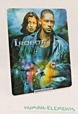 i,ROBOT iROBOT will smith - Lenticular 3D Flip Magnet Cover FOR bluray steelbook
