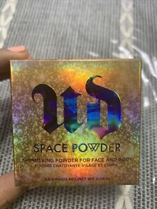 New! URBAN DECAY Space Powder Shimmer Highlighter Face Body 2.5g