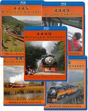 4449 Michigan Odyssey Complete 5 BLU-RAY Collection Vol 1-5 Montana Idaho Marcam