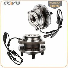 Pair (2) Front New Wheel Hub Bearing Assembly for Land Rover Discovery Series II