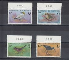 TIMBRE STAMP 4  ILE GUERNESEY Y&T#160-63  OISEAU BIRD  NEUF**/MNH-MINT 1978 ~A80