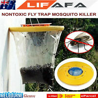 Disposable Nontoxic Fly Hanging Folding Catcher Killer Trap Insert Bug Mosquito