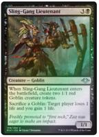 MtG x1 Foil Sling-Gang Lieutenant Modern Horizons - Magic the Gathering - TCG