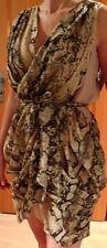 Sexy Salsa Tango Kleid Träger Kleid Party Kleid H&M Chiffon Gr 36