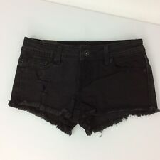 LOVEsick Jean Shorts Juniors Size 1 Black Distressed Destroyed New The Short