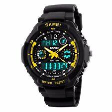 Army S-SHOCK Sport Quartz Wrist Men's Analog Digital Watch Waterproof Military