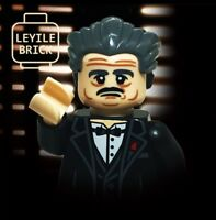 ⎡LEYILE BRICK⎦Custom God Father Vito Corleone Lego Minifigure