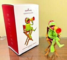 Hallmark 2019 Lights Camera Kermit Muppets Keepsake Xmas Ornament Nib