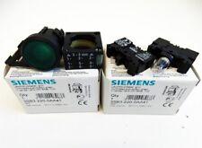Siemens 3SB3 220-0AA41 Leuchtdrucktaster Grün 24V 1NO VE=2 Stk. -unused/OVP-