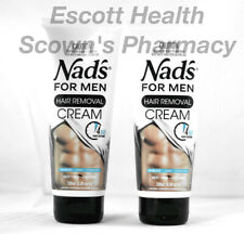 2 x The Original Nad's Hair Removal Cream For Men *New Formula and Fragrance