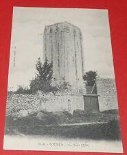 CPA CARTE POSTALE 1910-1920 TOUR LOUDUN VIENNE 86 POITOU CHARENTES FRANCE