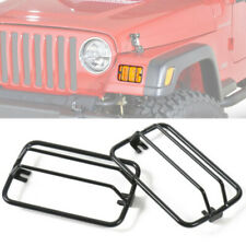 Front Bumper Side Turn Signal Light Guard Cover Fit Jeep Wrangler TJ 1997-2006