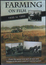 FARMING ON FILM 1 - 1930 TO 1960 NEW ARCHIVE FILM FROM WORKING FARMS