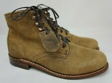 Wolverine 1000 Mile W40304 Rough Out Waxy Brown Boots Men's Size 9 D MSRP $385
