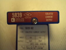5B39-02, Isolated Current Output, Analog Devices, in:-5 to +5V; out 4 to 20ma