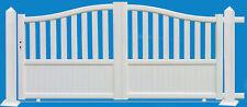 """portail aluminium galbé """"YVETOT""""  coulissant standard & sur mesure vendu au M²"""