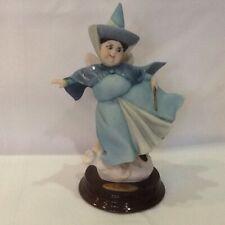 Giuseppe Armani Merry Weather Disney Sleeping Beauty Blue Fairy Godmother Figure