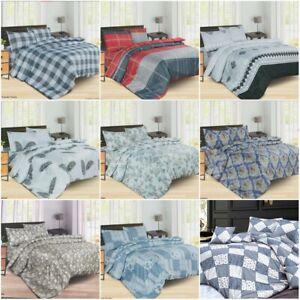 Floral 3 Pcs Duvet set Quilt Cover Bedding Set pillow cases Single Double King