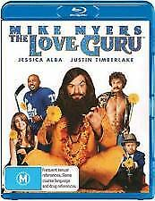 THE LOVE GURU BLU RAY - NEW & SEALED MIKE MYERS,JUSTIN TIMBERLAKE WAYNE'S WORLD