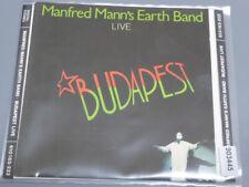 MANFRED MANN'S EARTH BAND <  Budapest (Live)  > VG (CD)