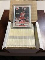 🔥HIGH GRADE JORDAN🔥 1990-91 Fleer Basketball Complete Set, Chicago BULLS HOF