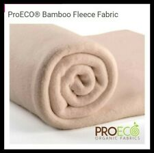 Bamboo Fleece70% bamboo viscose 30% organic cotton 0.5m by 1.5m