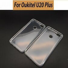 OUKITEL U20 PLUS SOFT SILICON BACK CASE PROTECTIVE TPU COVER FUNDA SILICONA