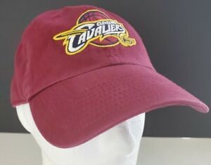 '47 Brand Cleveland Cavaliers Adjustable Wine Red Hat Cap EUC