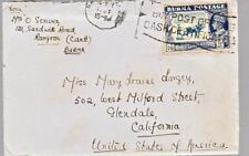 Burma #27 with slogan cancel on cover to Glendale CA *d