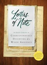 Letters of Note : Correspondence Deserving of a Wider Audience (2014, Hardcover)