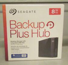 Seagate Backup Plus HUB 8TB External Desktop Hard Drive - Free P&P Worldwide!