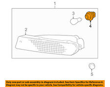 TOYOTA OEM 96-00 RAV4 Turn Signal Park Light-Front-Socket & Wire 8161520610