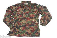 Veste Légère Camouflage Alpenflag Armée de terre Suisse Taille L uniquement