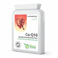 Co Enzyme Q10 CoQ10 100mg 90 Capsules - Healthy Heart Immune System Antioxidant