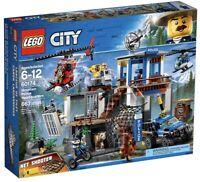 *BRAND NEW* Lego City Set #60174 Mountain Police Headquarters ~RETIRED~