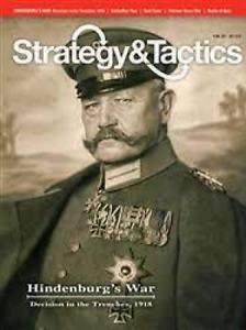 STRATEGY & TACTICS MAGAZINE NUMBER 288 SEP - 0CT 2014 - HINDENBURG'S WAR
