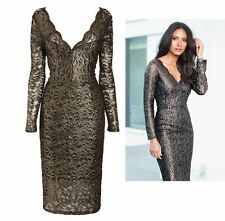 Calf Length V Neck Stretch, Bodycon NEXT Dresses for Women