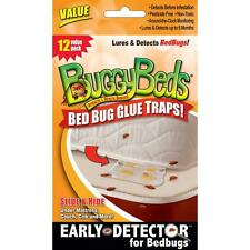 Bed Bug Trap - BuggyBeds Value Pack of Glue Traps (12 pack)